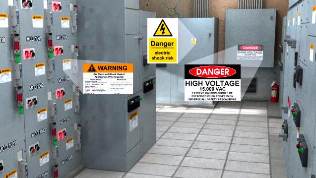 Morrow Engineering Inc. Arc Flash Warning Labels